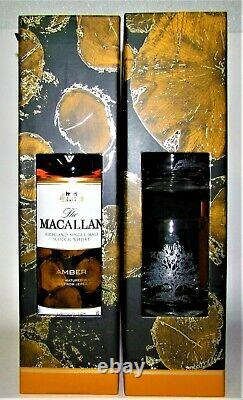 1 x The MACALLAN AMBER 2017, OAK CASKS, 70cl, 40% vol, + Gift 2 Glasses Ltd. Edit