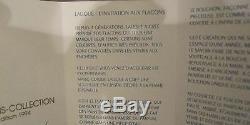 1994 LALIQUE Ltd Ed LES MUSES (MIB) 1st year Perfume Bottle Flacon w 2 fl oz