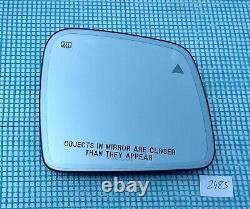 2011-2019 JEEP GRAND CHEROKEE RIGHT AUTO DIM MIRROR GLASS BLIND SPOT USA type