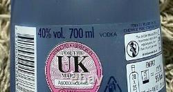 2020 Absolut Vodka Movement EMPTY Bottle Limited Edition Blue Glass