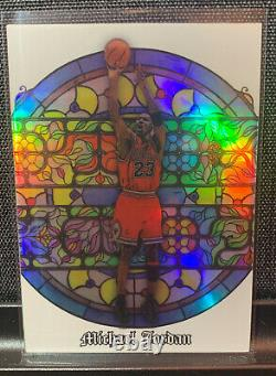 2020 Legacy Collectables Iconic Series Michael Jordan #MJ-I Mint Stained Glass