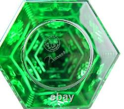 Baccarat Courchevel Green Christmas Fir Tree Made In France 2804655 New No Box
