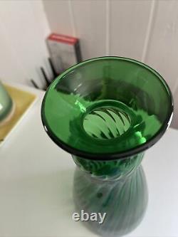 Blenko Flatwoods Monster Glass Decanter