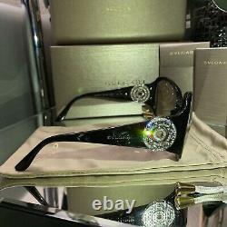 Bvlgari Sunglasses Frames Swarovski Crystal Limited Edition 8008-B Eyeglasses