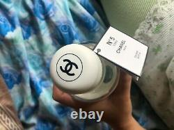 CHANEL No5 Factory Water Bottle Limited Edition Glass Reusable Soldout worldwide