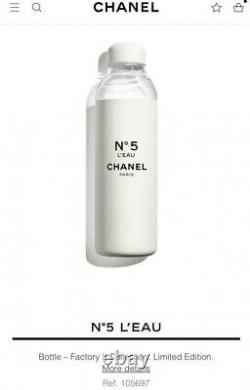 Chanel No 5 Factory 2021 Water Bottle Flask Summer Limited Edition