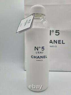 Chanel No 5 Factory 5 Collection Limited Edition A Glass Water Bottle 590ml New