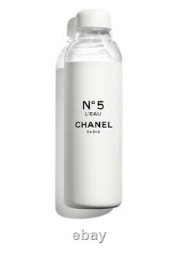 Chanel No 5 Glass Water Bottle Factory Collection Limited Edition
