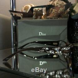 Christian Dior Eyeglasses 3253 Limited Edition Swarovski Crystal Minuit RARE