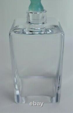 Daum Cactus Glass Hilton McConnico Decanter Crystal