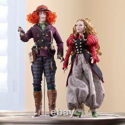Disney Store Limited Edition Platinum Alice In Wonderland Looking Glass 17 Doll