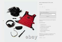 Dr Disrespect Limited Edition Doctober Halloween Costume Doc Vest Glasses Set