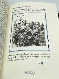 Easton Press THROUGH THE LOOKING GLASS Alice in Wonderland LIMITED Edition RARE