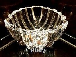 Exquisite Orrefors Crystal Centerpiece Bowl Signed & Numbered By Lars Hellsten