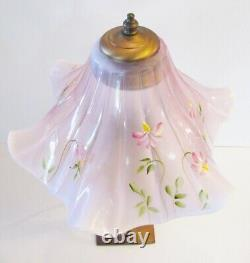 Fenton Accent Lamp 17-1/2 Tall RARE MINT Brand NewithBox HP- Signed Tammy Neader
