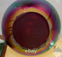 Fenton EGG Robert Barber Vintage RUBY CARNIVAL Hanging Hearts FREEusaSHIP