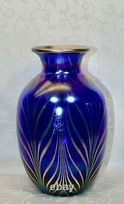 Fenton, Vase, Farvrene Glass, Dave Fetty, Connoisseur Collection 2002