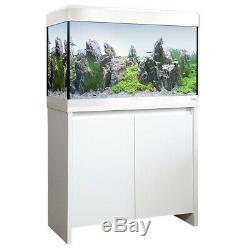 Fluval Roma Led Aquarium 125 White New Cabinet Limited Edition Fish Tank