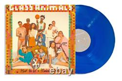 Glass Animals How To Be A Human Being VMP Club Edition Blue Color Vinyl LP