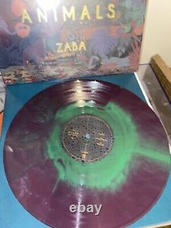 Glass Animals Zaba (Limited Edition Purple & Green Starburst Colored Vinyl)