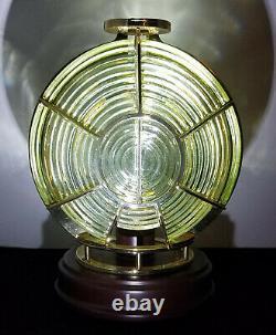 HARBOUR LIGHTS 3 1/2 Order #650 FRESNEL GLASS LENS Limited Edition 3717/5000 EX