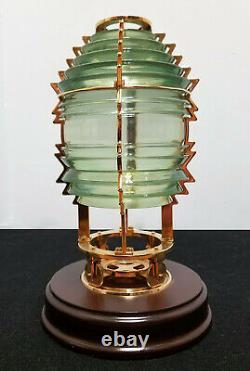 HARBOUR LIGHTS 5th Order #631 FRESNEL GLASS LENS Limited Edition 2457 / 4000 EX