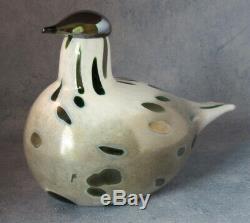 Iittala OIVA TOIKKA Art Glass Bird Sumusirri Special Limited Edition 200 NIB