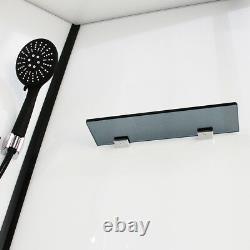 Insignia Shower Cabin Enclosure No Steam 900mm Monochrome Designer Ltd Edition