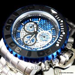 Invicta JT Sea Hunter Gen II Steel Blue Glass Fiber Swiss Mvt 58mm Watch New
