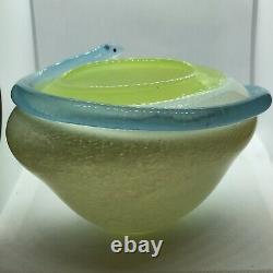 Kosta Boda Snake Glass Vase By Ulrica Hydman-Vallien Ltd No 8/500 Rare