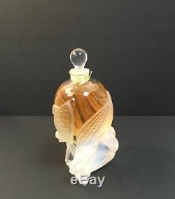 Lalique Limited Edit. Set Les Elfes (2002) & Envol (2011) Collectible Flacon