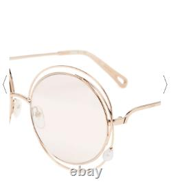 LimitedEdition CHLOE CARLINA with PEARL 58mm Sunglasses MSRP$495 RAREFIND PEARL Fl