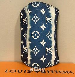 NEW 2020 Auth LOUIS VUITTON ESCALE bag sun GLASSES CASE LTD TIE DIE Wallet Pouch