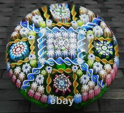 Perthshire Paperweights Complex Millefiori Limited Edition Large Paperweight