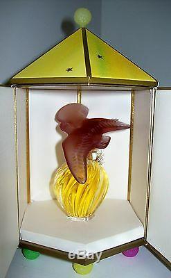 RARE Nina Ricci L'Air du Temps PerfumePurple Doves Lalique BottleSealedMIB