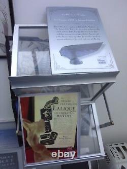 ROLLS-ROYCE GLASS CAR MASCOT DESK HOOD ORNAMENT TROPHY FRENCH byCRlSTAL LALIQUE