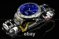 Rare Invicta 47mm Pro Diver Blue Glass Automatic NH35A Gunmetal Polished Watch