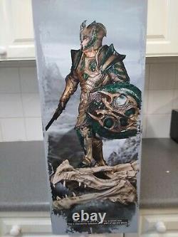 Skyrim Glass Armour Limited Edition Statue Gaming Headz