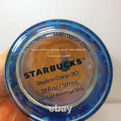 Starbucks Korea 2019 limited edition summer night firefly glass coldcup 591ml