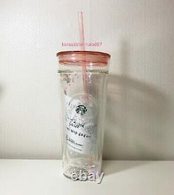 Starbucks Korea 2020 Happy Valentine Glass cold cup 591ml limited edition