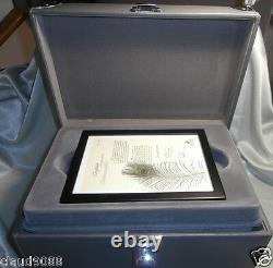 Swarovski 2nd Limited Edition The Peacock 1998 No 6748/10000 Brand New 218123