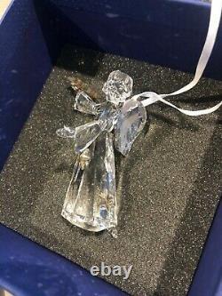 Swarovski Crystal Hanging Angel Decoration A 9400 NR 000275 Limited Edition 2010