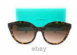 TIFFANY TF4164 80153B Havana Cat Eye Women's Sunglasses 52 mm