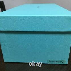 Tiffany & Co BONE CHINA Blue Ribbon Box Porcelain Pair Mug Cup Set Gift