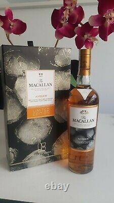 Very Rare Whisky Macallan Amber Limited Edition With 2 Glasses 70cl 40%