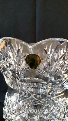 Waterford Collectible Crystal Bnib 10 Fitzwilliam Thistle Vase Limited Edition
