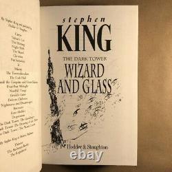 Wizard and Glass by Stephen King (Signed First, Limited UK Edition, Hardcover)