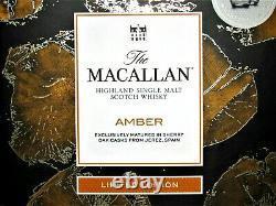 1 X Le Macallan Ambre 2017, Oak Casks, 70cl, 40% Vol, + Gift 2 Glasses Ltd. Modifier