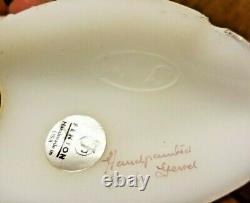 13 Pc Fenton Qvc Signature De La Famille Collection De Chaussures En Verre Victorien Peint À La Main