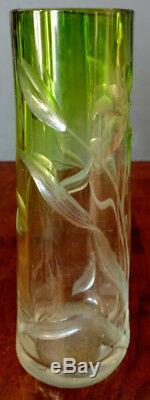 1890 De Moser Intaglio Lis Cut Vert Pour Supprimer Rare, Unique Et Excellent